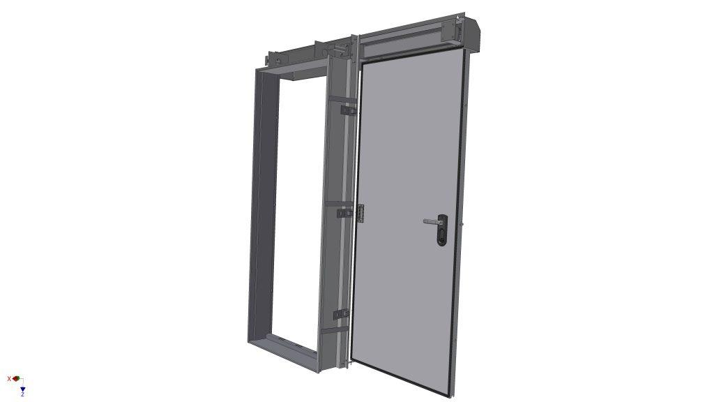 דלת הדף רסיסים משופרת מחיר